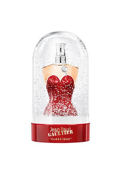 jean paul gaultier classique snow globe