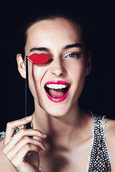 Giorgio Armani Ecstasy Shine model