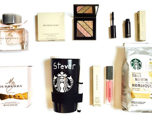 #StarbucksAtHome + Burberry Beauty