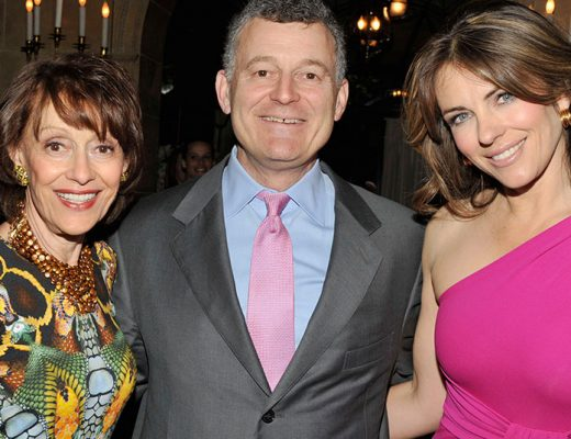 evelyn lauder, william lauder, elizabeth hurley