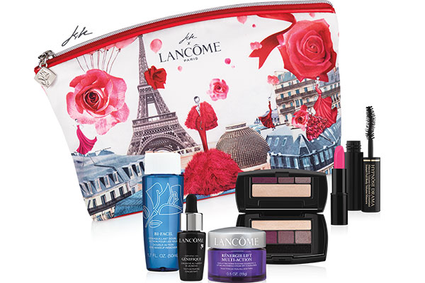 lancome autumn 2017 gift with purchase offer at Hudson's Bay