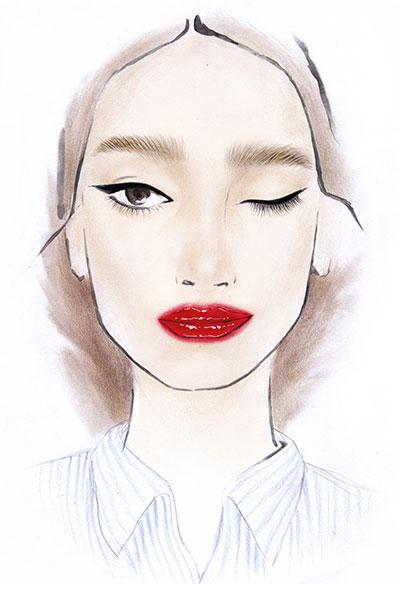 saem mool jung makeup look