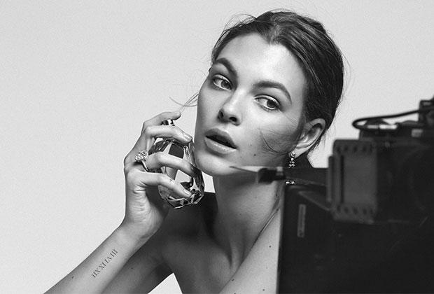 tiffany fragrance model