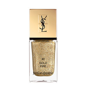 ysl laque couture in gold