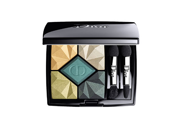 dior 5-couleurs eye palette in emerald