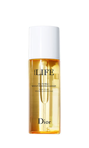 dior hydra life oil to milk cleanser