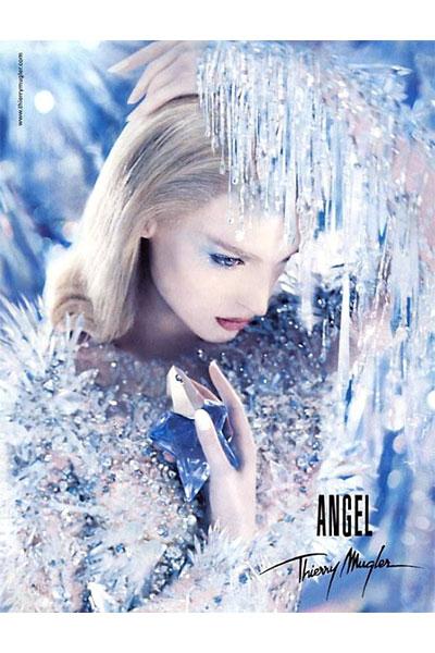 vintage mugler angel ad