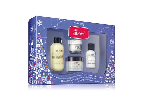 philosophy all aglow skincare set