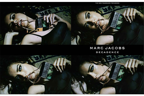 marc jacobs decadence ad
