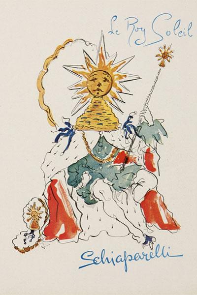 schiaparelli sun king poster