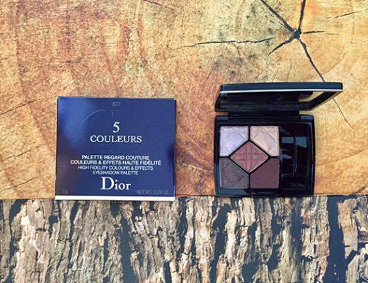 dior 5-couleurs eyeshadow palette in hypnotize