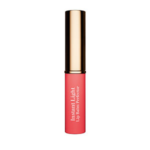 clarins instant light perfector lip balm in hot pink