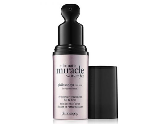 philosophy miracle worker fill + firm eye power treatment