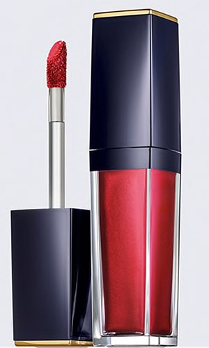 estee lauder pure color envy paint-on liquid lipcolor in sexy metallic