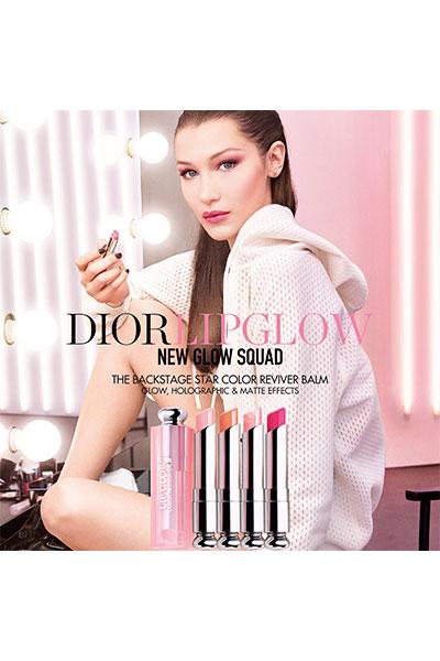dior lip glow ad