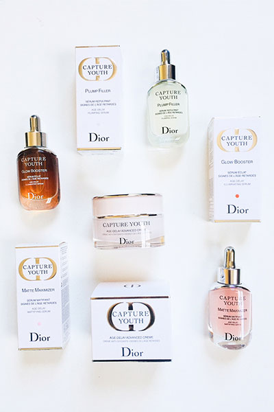 dior capture youth age-delay serums
