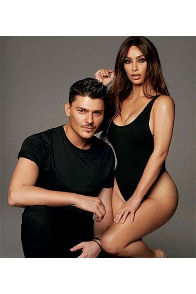 mario dedivanovic Kim Kardashian's makeup artist