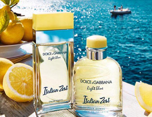 dolce and gabbana light blue Italian Zest