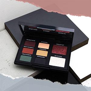 Teeez riot eyeshadow palette in bold