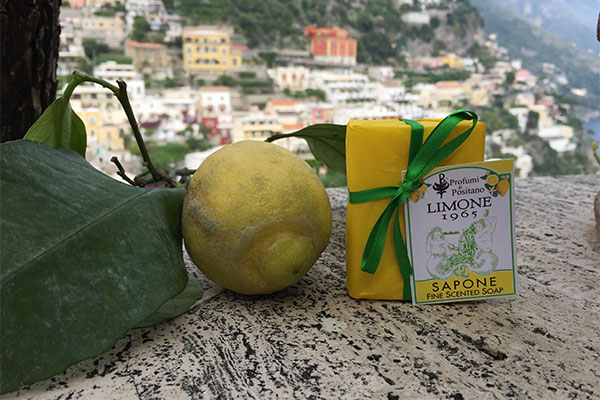 profumi di positano lemon soap