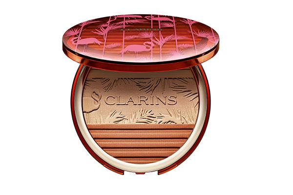 clarins bronzing powder and blush