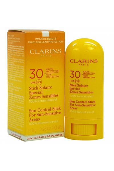 clarins sunscreen stick for sun-sensitive areas