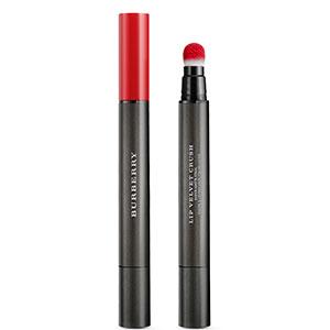 burberry lip velvet crush in military red