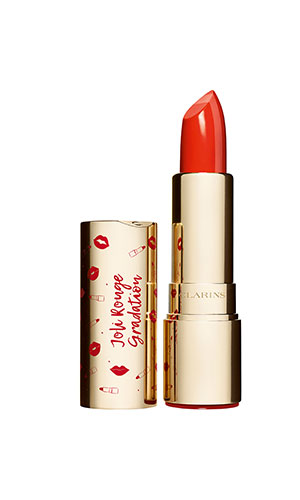 clarins coral gredation joli rouge lipstick