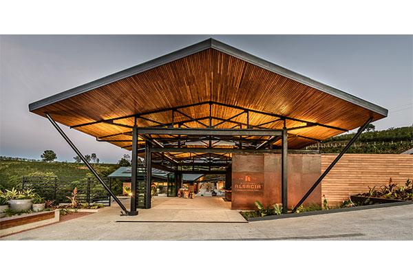 starbucks Hacienda Alsacia coffee farm