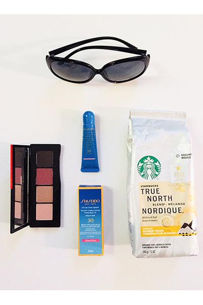 Starbucks Pike Place & Shiseido