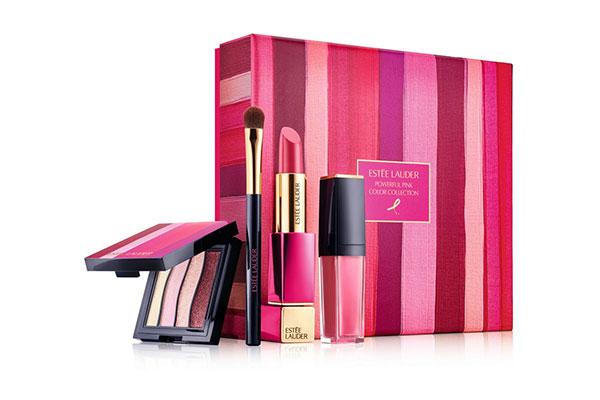 estee lauder powerful pink colour collection