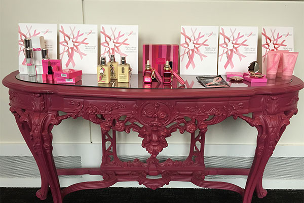 the estee lauder companies breast cancer campaign products