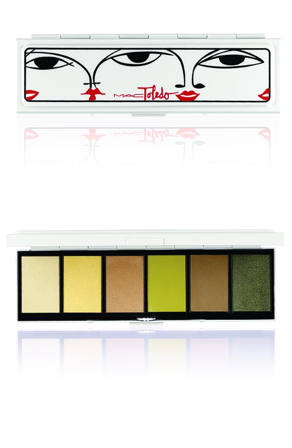 TOLEDO-EyeShadowx6 Bellgreens