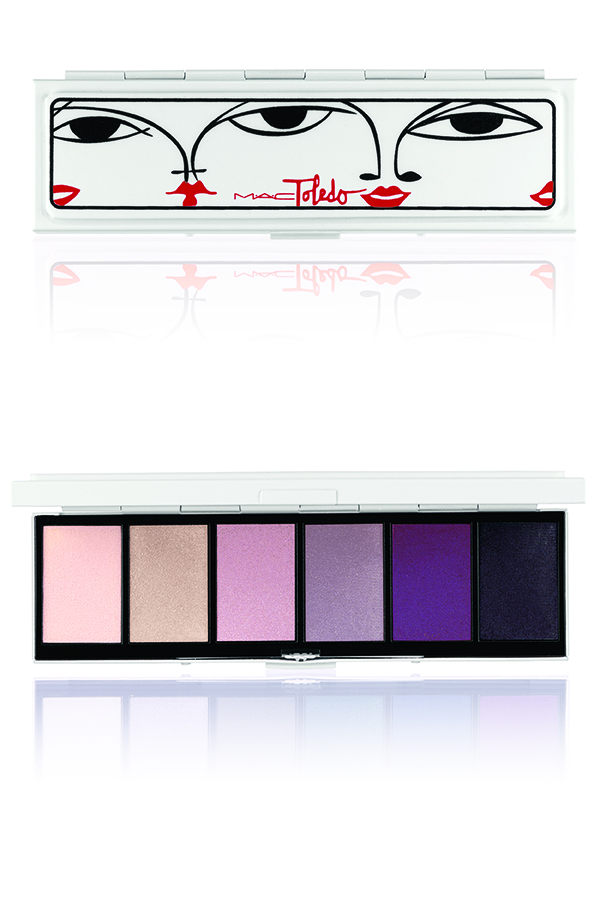 TOLEDO-EyeShadowx6 Violetwink