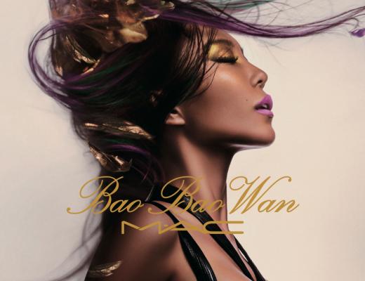 Bao Bao Wan for MAC promotional graphic