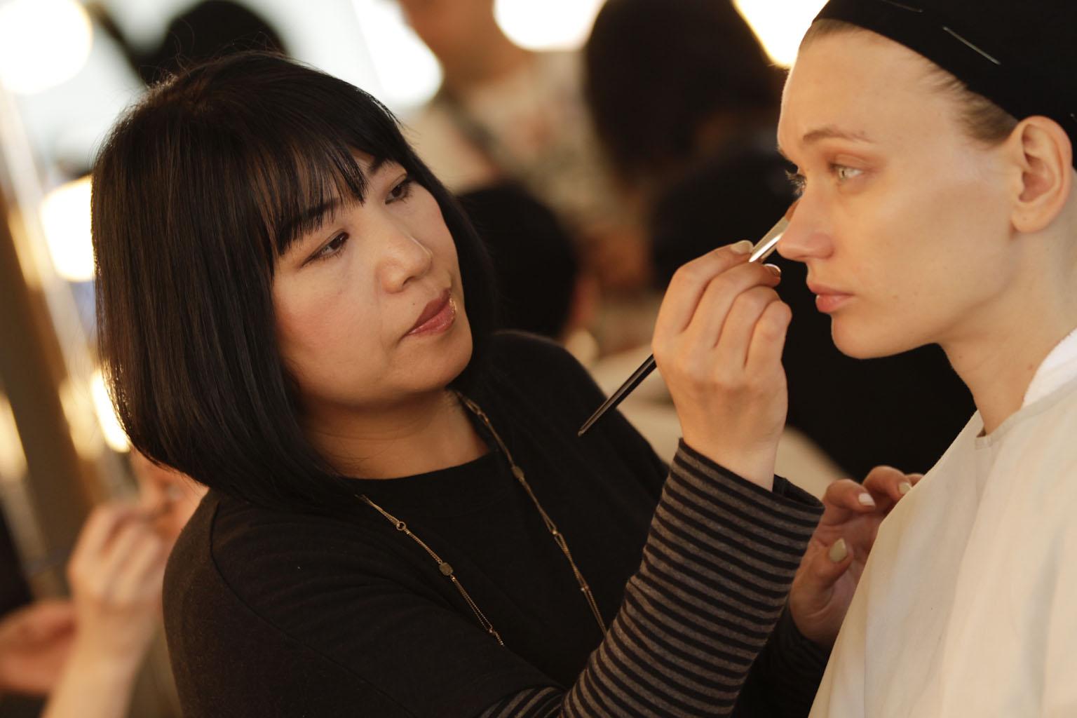 shiseido makeup artist