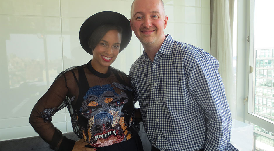 dave lackie and alicia keyes