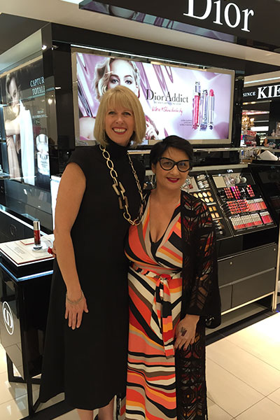 dior's lisa fehr and Adele Wright