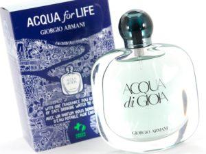 Giorgio Armani 2013 Acqua for Life Campaign