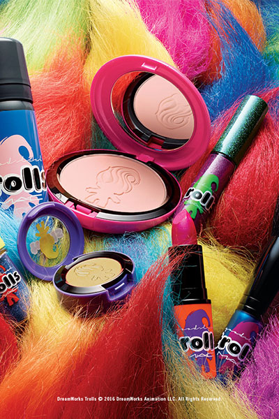 mac good luck trolls collection