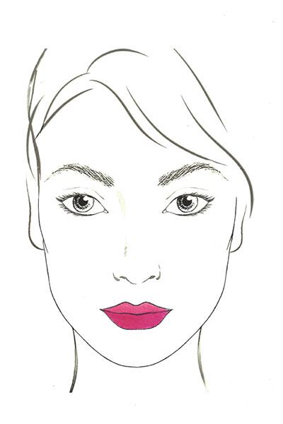 lancome lip chart