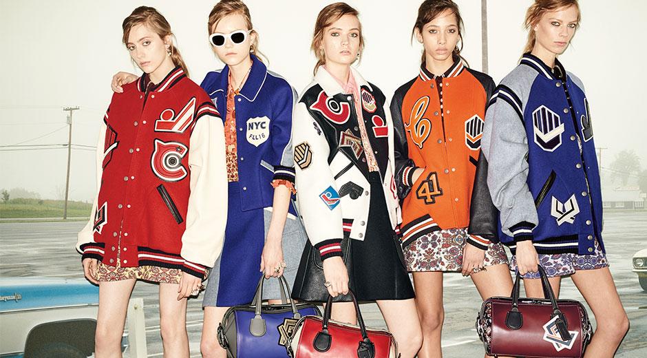 coach fashion models