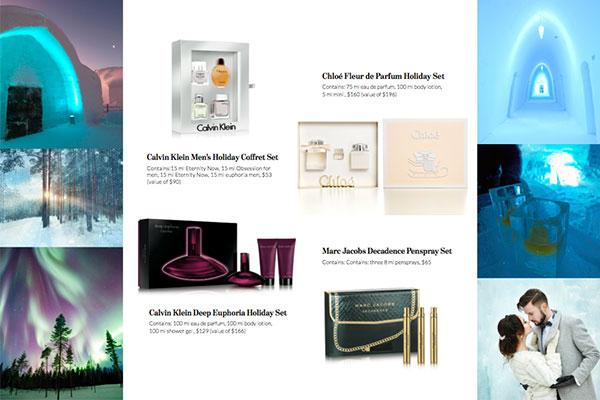 holiday fragrance gift sets