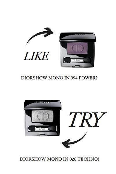 diorshow mono eyeshadows