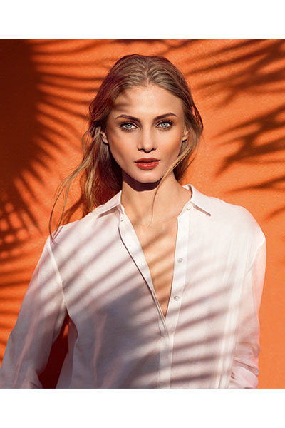 clarins summer look