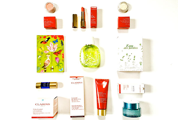 clarins skincare and beauty