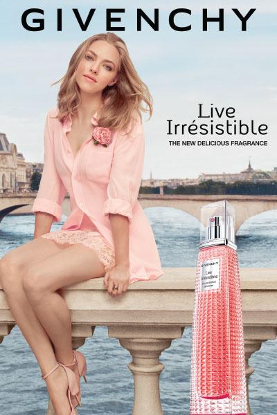 givenchy live irresistible ad