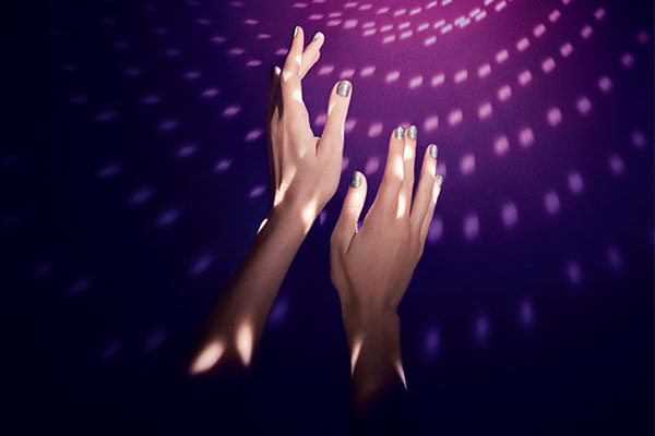 ysl night 54 nail polish look