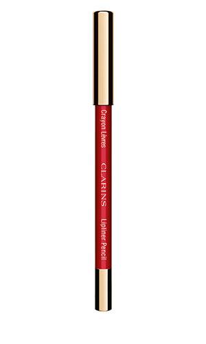 clarins lipliner pencil in red