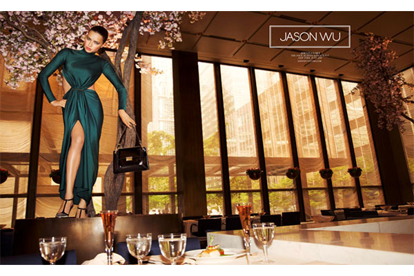 jason wu supermodel supper club ad